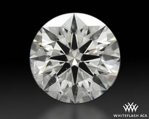 1.074 ct G SI2 A CUT ABOVE® Hearts and Arrows Super Ideal Round Cut Loose Diamond