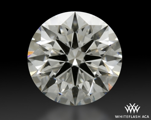 1.202 ct H VS1 A CUT ABOVE® Hearts and Arrows Super Ideal Round Cut Loose Diamond