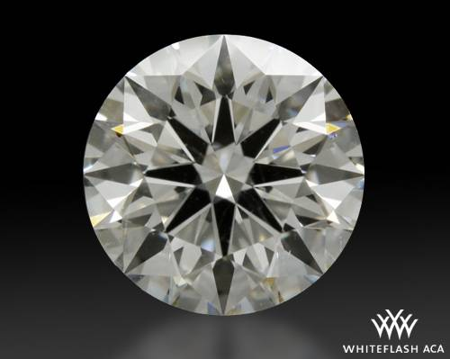 1.305 ct I SI1 A CUT ABOVE® Hearts and Arrows Super Ideal Round Cut Loose Diamond