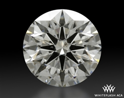 1.518 ct F SI1 A CUT ABOVE® Hearts and Arrows Super Ideal Round Cut Loose Diamond