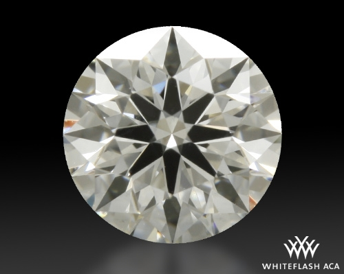 0.336 ct I VS2 A CUT ABOVE® Hearts and Arrows Super Ideal Round Cut Loose Diamond