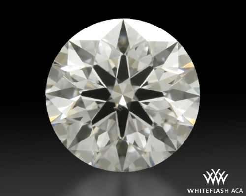 0.403 ct H SI1 A CUT ABOVE® Hearts and Arrows Super Ideal Round Cut Loose Diamond