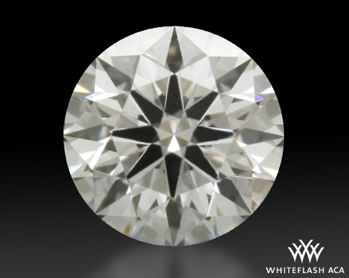 0.312 ct D SI1 A CUT ABOVE® Hearts and Arrows Super Ideal Round Cut Loose Diamond