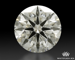 0.353 ct H SI1 A CUT ABOVE® Hearts and Arrows Super Ideal Round Cut Loose Diamond