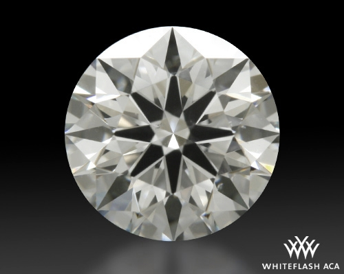 0.613 ct H VS2 A CUT ABOVE® Hearts and Arrows Super Ideal Round Cut Loose Diamond