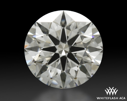 0.614 ct F VS2 A CUT ABOVE® Hearts and Arrows Super Ideal Round Cut Loose Diamond