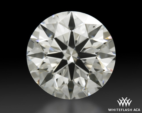 1.206 ct F SI1 A CUT ABOVE® Hearts and Arrows Super Ideal Round Cut Loose Diamond
