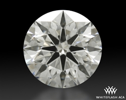 1.237 ct H SI1 A CUT ABOVE® Hearts and Arrows Super Ideal Round Cut Loose Diamond