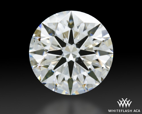 1.026 ct H SI1 A CUT ABOVE® Hearts and Arrows Super Ideal Round Cut Loose Diamond