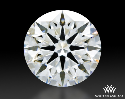 1.07 ct F VS2 A CUT ABOVE® Hearts and Arrows Super Ideal Round Cut Loose Diamond