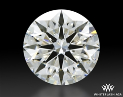 1.01 ct H SI1 A CUT ABOVE® Hearts and Arrows Super Ideal Round Cut Loose Diamond