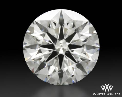 1.16 ct F SI1 A CUT ABOVE® Hearts and Arrows Super Ideal Round Cut Loose Diamond