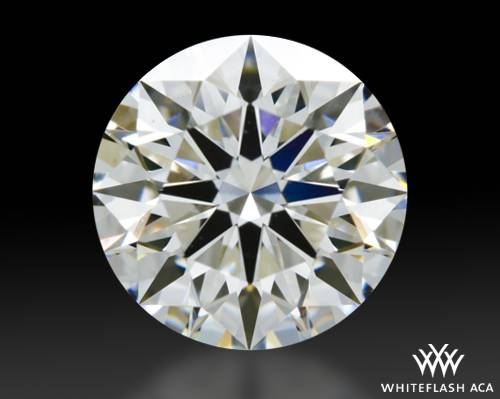 1.101 ct H VS1 A CUT ABOVE® Hearts and Arrows Super Ideal Round Cut Loose Diamond