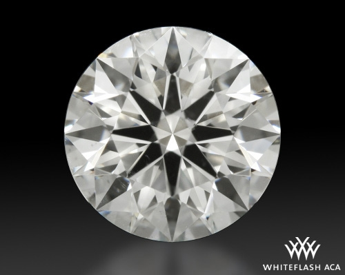 1.027 ct G SI1 A CUT ABOVE® Hearts and Arrows Super Ideal Round Cut Loose Diamond