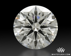 1.004 ct E VS1 A CUT ABOVE® Hearts and Arrows Super Ideal Round Cut Loose Diamond