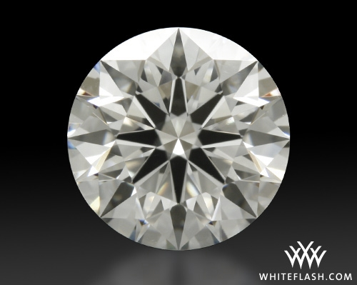 1.006 ct I VS2 A CUT ABOVE® Hearts and Arrows Super Ideal Round Cut Loose Diamond