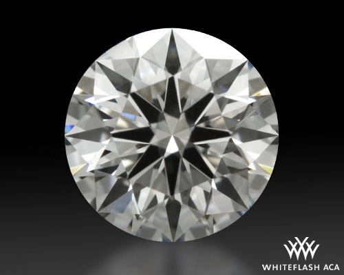 0.642 ct F VVS2 A CUT ABOVE® Hearts and Arrows Super Ideal Round Cut Loose Diamond
