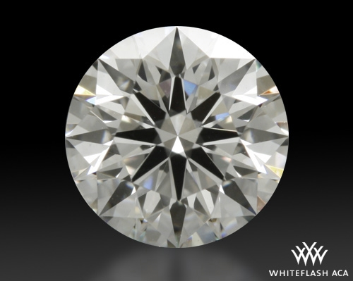 0.615 ct F SI1 A CUT ABOVE® Hearts and Arrows Super Ideal Round Cut Loose Diamond