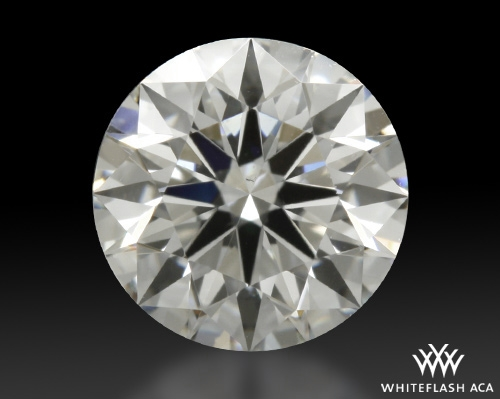 0.603 ct G VS2 A CUT ABOVE® Hearts and Arrows Super Ideal Round Cut Loose Diamond