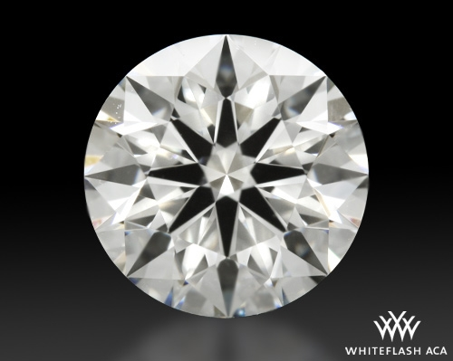 1.227 ct H SI1 A CUT ABOVE® Hearts and Arrows Super Ideal Round Cut Loose Diamond