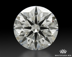 1.554 ct H SI1 A CUT ABOVE® Hearts and Arrows Super Ideal Round Cut Loose Diamond