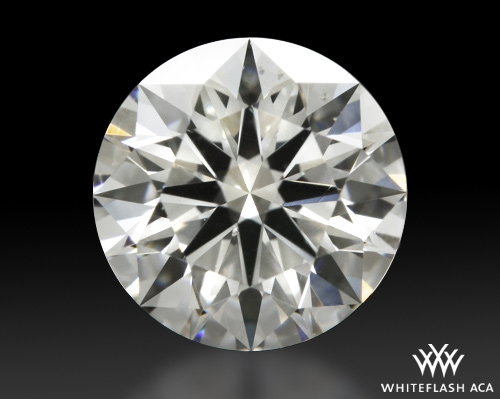 0.905 ct D SI1 A CUT ABOVE® Hearts and Arrows Super Ideal Round Cut Loose Diamond