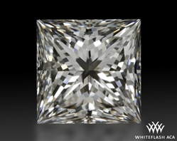 1.258 ct F VS2 A CUT ABOVE® Princess Super Ideal Cut Diamond
