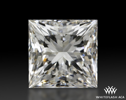 1.113 ct F SI1 A CUT ABOVE® Princess Super Ideal Cut Diamond