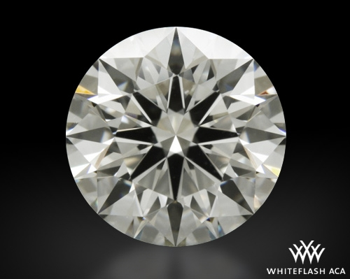 1.208 ct J VS1 A CUT ABOVE® Hearts and Arrows Super Ideal Round Cut Loose Diamond