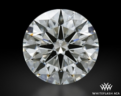 1.284 ct I SI1 A CUT ABOVE® Hearts and Arrows Super Ideal Round Cut Loose Diamond