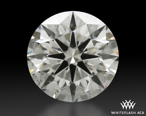 1.271 ct H SI1 A CUT ABOVE® Hearts and Arrows Super Ideal Round Cut Loose Diamond