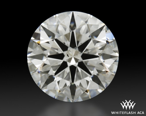 1.122 ct E SI1 A CUT ABOVE® Hearts and Arrows Super Ideal Round Cut Loose Diamond
