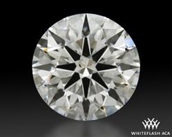1.122 ct E SI1 A CUT ABOVE® Hearts and Arrows Super Ideal Round Cut Loose Diamond