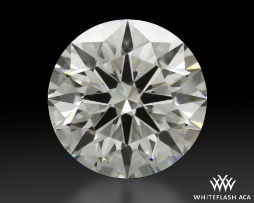 1.326 ct H VVS1 A CUT ABOVE® Hearts and Arrows Super Ideal Round Cut Loose Diamond