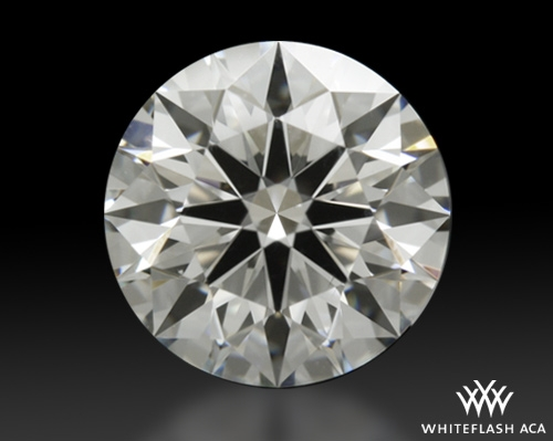 1.126 ct G VS2 A CUT ABOVE® Hearts and Arrows Super Ideal Round Cut Loose Diamond