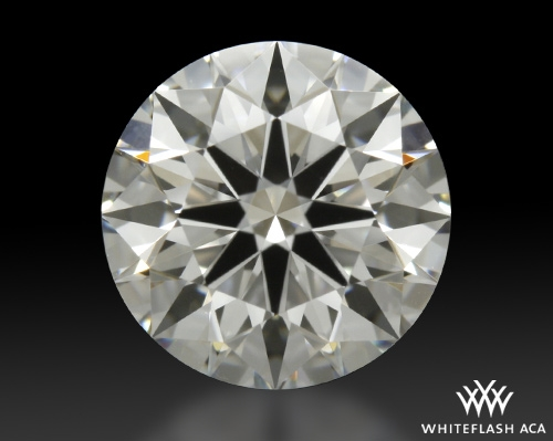 1.191 ct F VS1 A CUT ABOVE® Hearts and Arrows Super Ideal Round Cut Loose Diamond