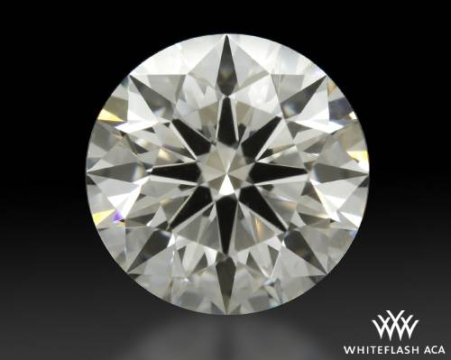 1.206 ct I VS2 A CUT ABOVE® Hearts and Arrows Super Ideal Round Cut Loose Diamond