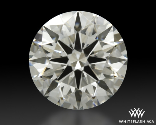 1.211 ct H VS2 A CUT ABOVE® Hearts and Arrows Super Ideal Round Cut Loose Diamond
