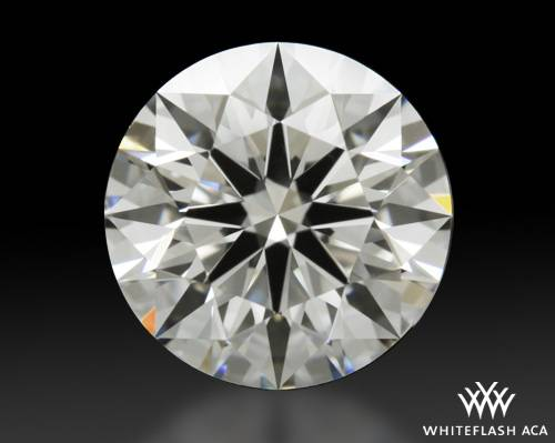 1.278 ct H VVS2 A CUT ABOVE® Hearts and Arrows Super Ideal Round Cut Loose Diamond