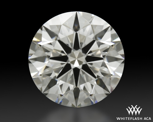 1.106 ct F VS1 A CUT ABOVE® Hearts and Arrows Super Ideal Round Cut Loose Diamond