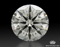 1.158 ct H SI1 A CUT ABOVE® Hearts and Arrows Super Ideal Round Cut Loose Diamond