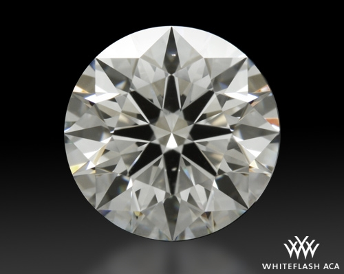1.164 ct H VS2 A CUT ABOVE® Hearts and Arrows Super Ideal Round Cut Loose Diamond