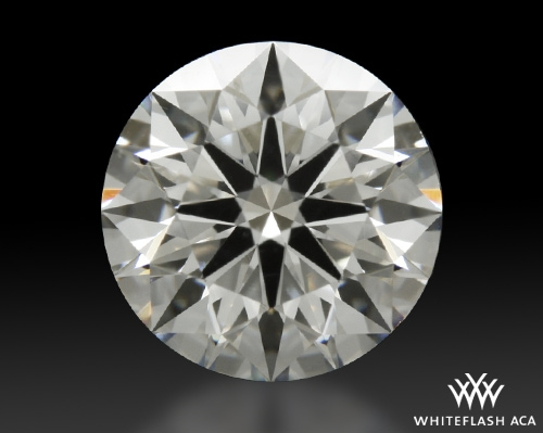 1.144 ct H SI1 A CUT ABOVE® Hearts and Arrows Super Ideal Round Cut Loose Diamond