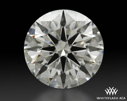 1.306 ct I VS2 A CUT ABOVE® Hearts and Arrows Super Ideal Round Cut Loose Diamond