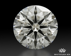 1.173 ct H VS1 A CUT ABOVE® Hearts and Arrows Super Ideal Round Cut Loose Diamond