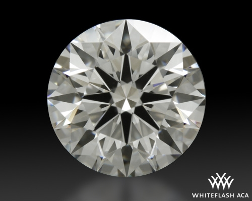1.345 ct I VS1 A CUT ABOVE® Hearts and Arrows Super Ideal Round Cut Loose Diamond