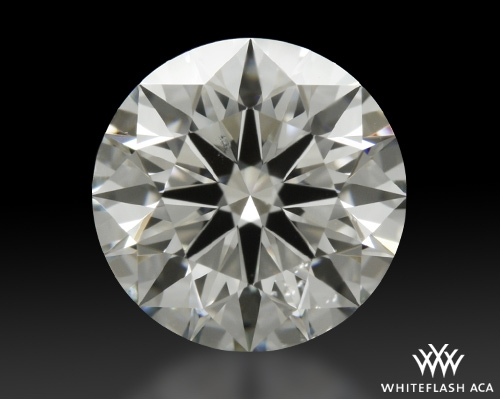 1.314 ct I SI1 A CUT ABOVE® Hearts and Arrows Super Ideal Round Cut Loose Diamond