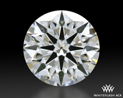0.933 ct D SI1 A CUT ABOVE® Hearts and Arrows Super Ideal Round Cut Loose Diamond