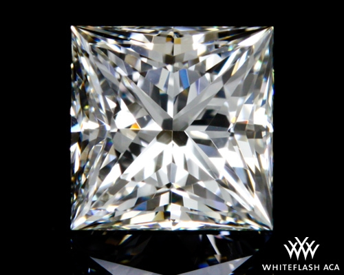0.724 ct H VVS2 A CUT ABOVE® Princess Super Ideal Cut Diamond