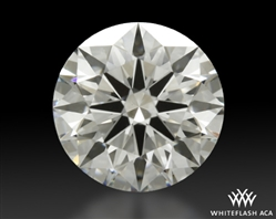 1.217 ct I SI1 A CUT ABOVE® Hearts and Arrows Super Ideal Round Cut Loose Diamond